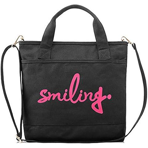 Borsa donna moda/Borsa di tela/Stampa borsa casual della lettera spalla - Stile Delle Lettere Set