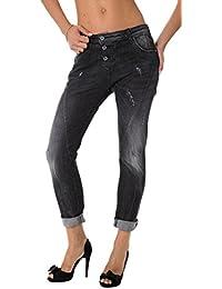 PLEASE - P78vl5 femmes déchiré slim jean