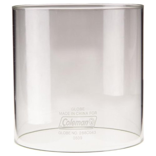 Coleman Lampenzubehör Ersatzglas - Größe M gerade Form