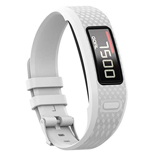 1 Vivofit 2 Uhrenarmband, Silikon Armband - Colorful Zubehör Weich Silikon Gummi Ersatz Uhrenarmband Armband Sport Armband für Garmin Vivofit 1 Vivofit 2 ()