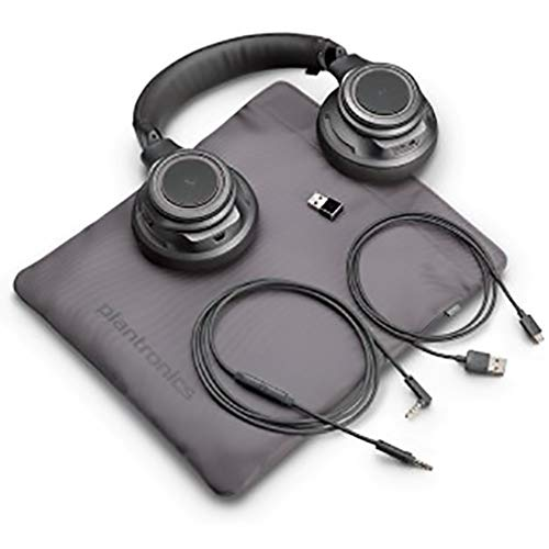 Plantronics BackBeat PRO Bluetooth Headphone - Plantronics BackBeat PRO & Bluetooth Headphone - Black, 204800-08