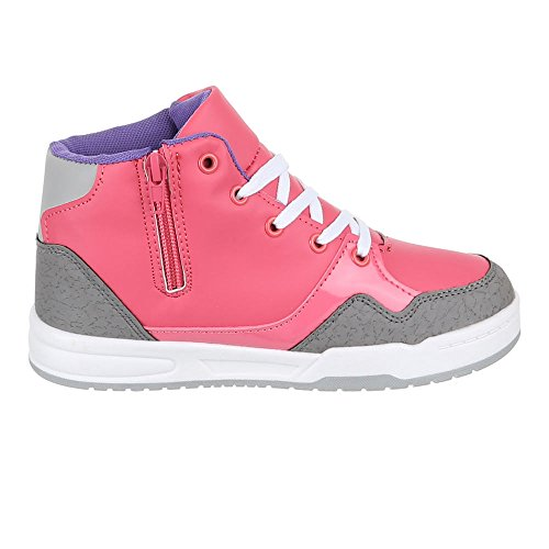 Chaussures pour enfants, 1018, loisirs chaussures sneakers Rose - Rosa Grau
