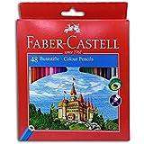 Faber-Castell Wood Color Box 48 Colors