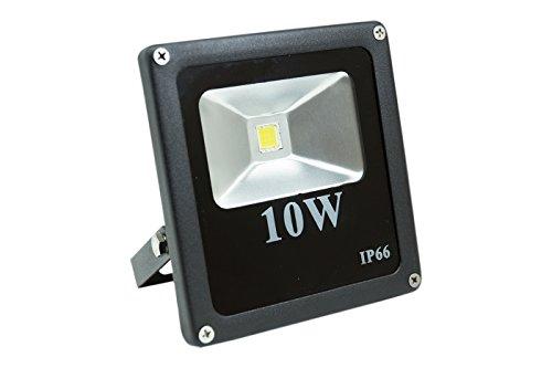 Scheinwerfer LED 10W Watt Slim Strahler Pro hohe Leuchtkraft IP66