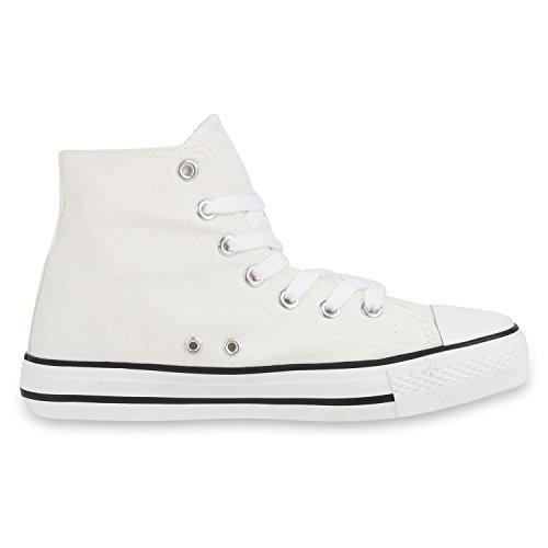 best-boots Donna Uomo scarpe da ginnastica Weiss Nuovo
