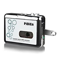 Cassette Player Usb Cassette To mp3 Converter Capture Save To Flash Drive directly No Need Computer + Gift Dedicated Stereo Around The Headset + The World's First Style