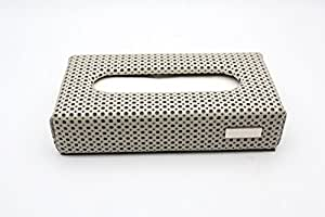 Millionaro Designer BEIGE Leather Tissue Holder Box With 100 Free Tissues Included for Audi R8