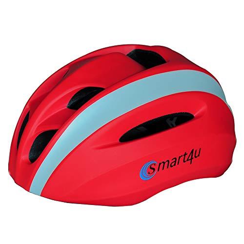 LIVALL Smart Fahrradhelm, Bluetooth Mountainbike Fahrradhelm, Bluetooth Lautsprecher, Eingebautes Mikrofon, Musik Und Anruf, CE-Zertifizierung 58-62 cm,Red
