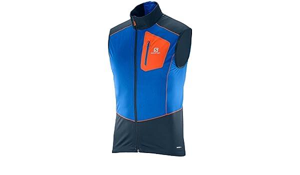 SALOMON Equipe Ss Vest Bl T shirtfür Herren, Farbe Blau a6ljI