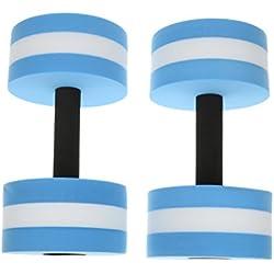 Haltère à Eau Aqua Gym Mousse Aquatique Barbell Remise Piscine Aqua Exercice