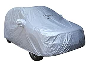 Amazon Brand - Solimo Hyundai Creta Water Resistant Car Cover (Silver)
