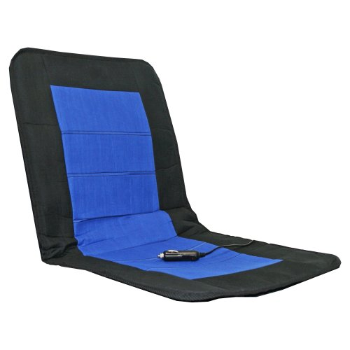 Alpin 74302 Auto-Sitzheizkissen Sport, schwarz / blau