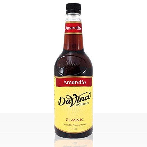 Da Vinci Gourmet Flavour Sirup Amaretto 6 x 1000ml Kaffeesirup