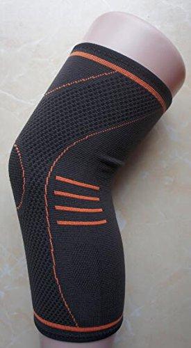 THERMO KUPFER KNIE BANDAGE - 1 Stuck Orange size M - INTHERMAX©