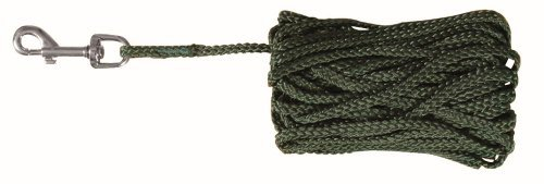 Trixie Schleppleine, Nylon, 10 m / � 5 mm, gr�n -