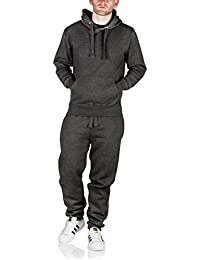 8f2e4c2b0 Mens Tracksuit Set Fleece Hoodie Top Bottoms Jogging Joggers Gym Trackies