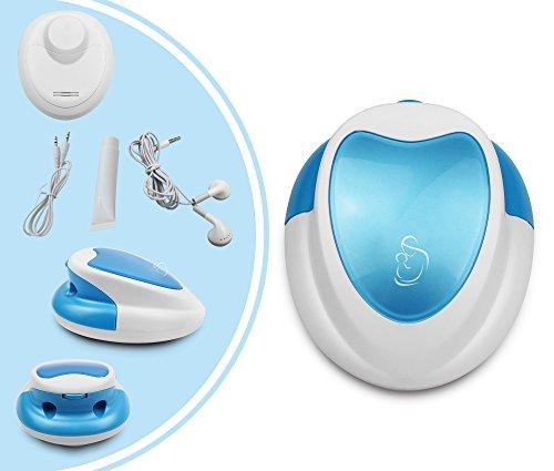 Leogreen - Doppler Prenatale Digitale, Blu, con...