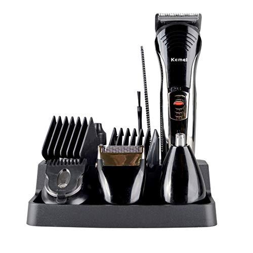 5 en 1 tondeuse à cheveux Kit de toilettage rechargeable sans fil profession étanche rasoir nez barbe tondeuse à cheveux avec peigne