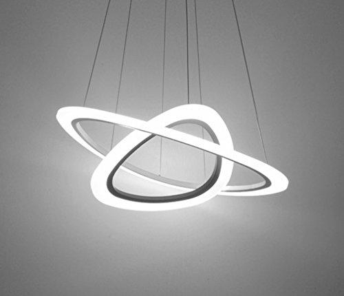 YY Lampadari Post-moderni Lampadari a Forma Di Anello Luci Semplici Salotto Illuminazione per Ufficio Illuminazione Luci Creatività Personalità,UN