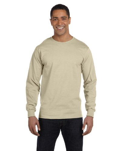 The Elevators auf American Apparel Fine Jersey Shirt Sand
