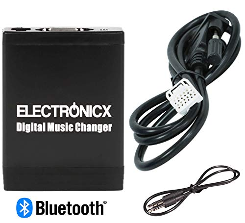 -TOY2-BT Bluetooth Freisprecheinrichtung Digitaler Musik Wechsler USB MP3 AUX SD Toyota, Lexus,Scion ()