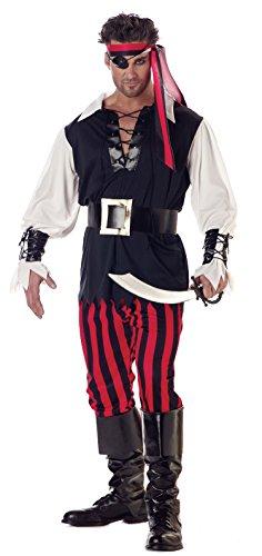 Cutthroat Für Erwachsenen Kostüm Piraten - Erwachsene Cutthroat Piraten-Kostüm (medium)