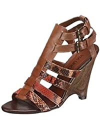 Via Uno Sandalette - Sandalias de Vestir de cuero Mujer