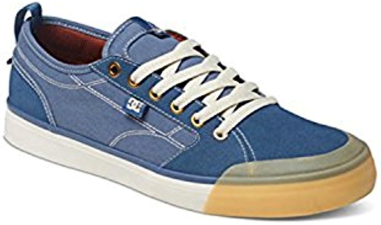 DC Men's Evan Smith TX Skate Shoe, a?il, 42 D(M) EU/8 D(M) UK