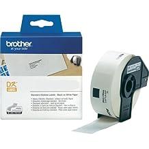 P-Touch QL 500 Brother Etiketten 29 x 90 mm, Papier, 400 Stück 29x90, DK Label für Ptouch QL500, QL 500A, 500BW
