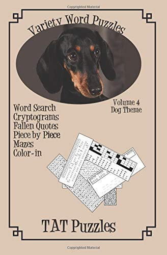 Variety Word Puzzles: Volume 4 Dog themed (Variety Puzzles) por Tat Puzzles