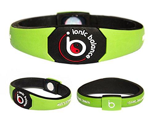 Original Ionic Balance Power Armband, Power Series, grün, XL (22 cm) (Armband Power Balance Xl)