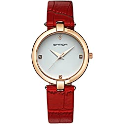 Fashion ladies quartz watch/ strap waterproof watch/Simple casual watches-H