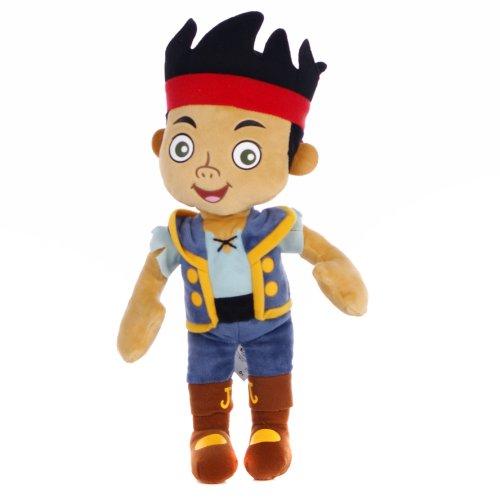 Disney Jake et Les Pirates du Pays De Jake Jouet en Peluche Doux 30,5cm