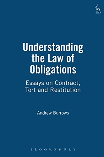 Understanding the Law of Obligations: Essays on Contract, Tort and Restitution
