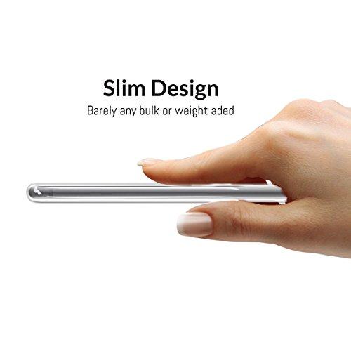 iPhone 8 Hülle, Orzly® Art Case für das iPhone 8 / iPhone 7 - Transparente Handyhülle / Case / Cover / Schutzhülle für das iPhone 8 / iPhone 7 (4.7 Zoll Model) - Kompatibel mit drahtloser Aufladung -  ROSENMUSTER Orzly Art Case für iPhone 7