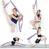 Écarteur de jambe, soyez plus flexible avec la poignée de la porte, équipement d'étirement de qualité supérieure pour le ballet, la danse, la gymnastique, le taekwondo et le MMA. - Inpay, violet clair