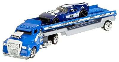 Mattel C0628 - Hot Wheels Truckin Transportador ordenados, de Hot Wheels