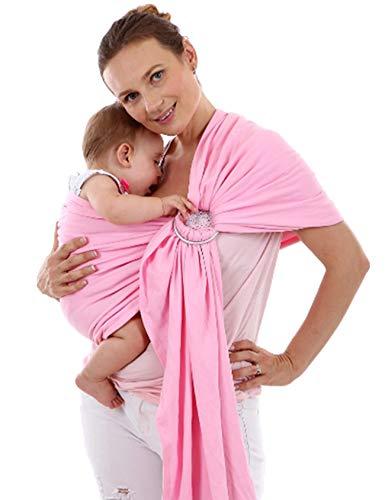 Jueshanzj Porte Bébé Facile à Utiliser Câlin Enfant Rose Taille Unique