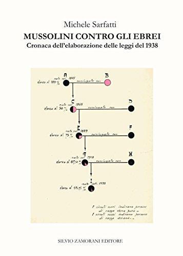 Mussolini contro gli ebrei. Cronaca dell'elaborazione delle leggi del 1938