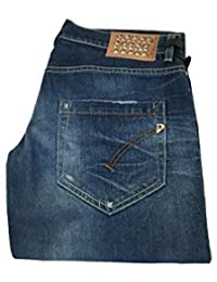 ff9c15bedcc9 DONDUP Jeans Donna MOD Dionis P269 con Borchie 98% Cotone 2% Elastan Made in