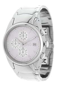 D&G Dolce&Gabbana Herren-Armbanduhr XL Chronograph Quarz Edelstahl beschichtet 3719770110