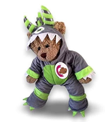 Bear A Build Kostüm - Build your Bears Wardrobe Kleidung für Teddybären, 38,1cm, Monster-Kostüm Zyklop