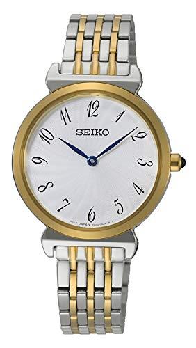 Seiko Orologio Analogico Quarzo Donna con Cinturino in Acciaio Inox SFQ800P1