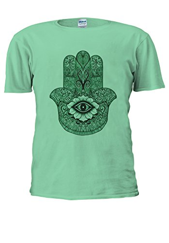 NisabellaLTD -  T-shirt - Maniche corte  - Uomo Mint Green Large
