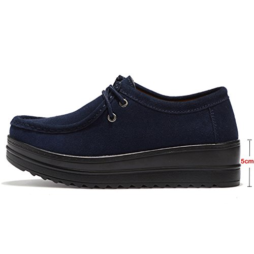 HKR Scarpe Stringate Donna 890 Dark Blue