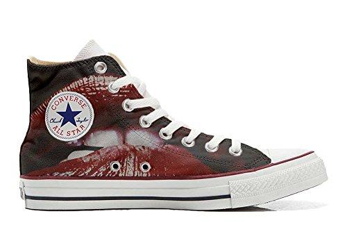 Converse All Star Chaussures Coutume Mixte Adulte (Produit Artisanal personnalisé) Lips