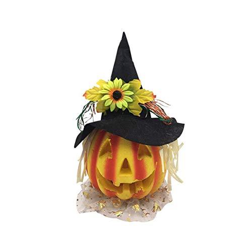 gaeruite LED Nachtlicht, Halloween Kürbis Schaum Nachtlichter mit Batterie für Haunted House Halloween Dekoration