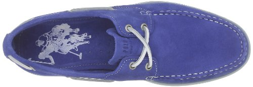 US Polo Assn Bert1 Suede, Chaussures bateau hommes Bleu (Blu)