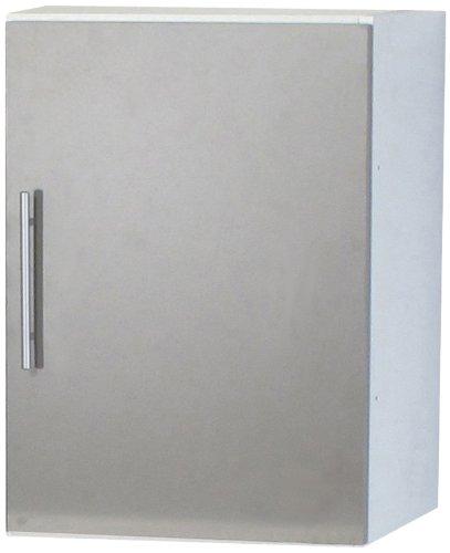 Générique 8009A2191A80 - Módulo de cocina, color blanco/gris