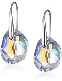 Swarovski Damen-Ohrringe Galet Lazo Blab 925 Sterling Silber Kristall 949740